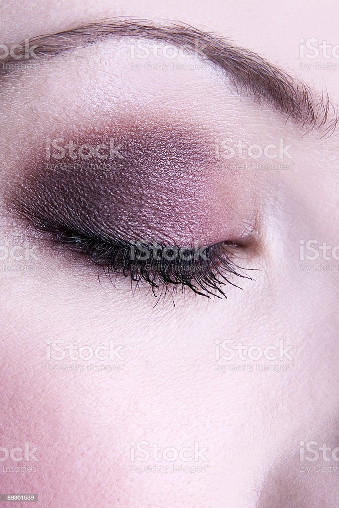 Eye Cień do zbiór zdjęć royalty-free