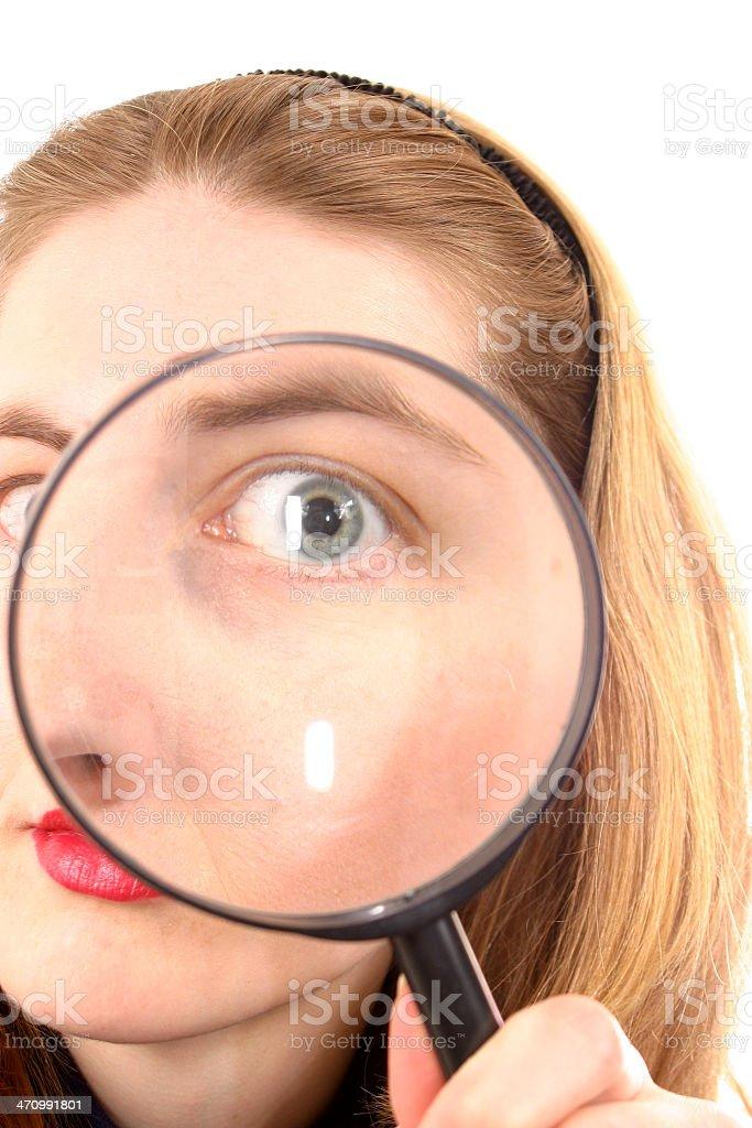 Eye Spy royalty-free stock photo