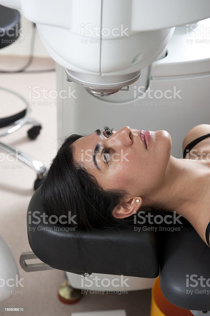 Eye Surgery stock photo
