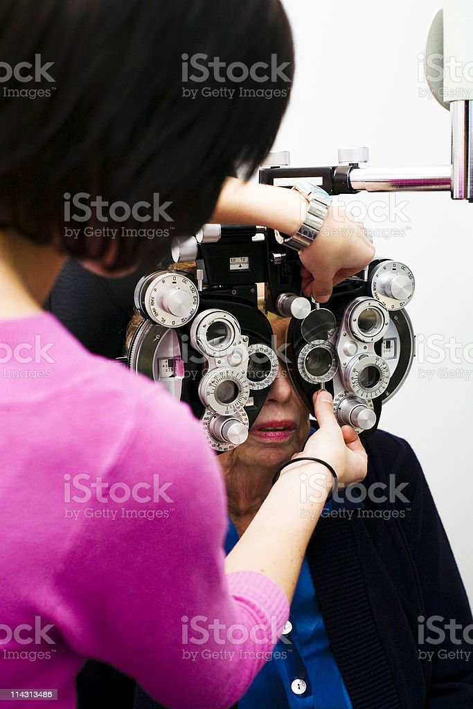 Eye test #2 royalty-free stock photo