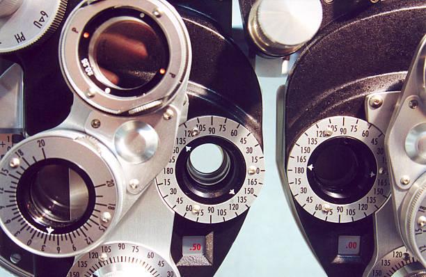 Eye Testing Equipment stock photo
