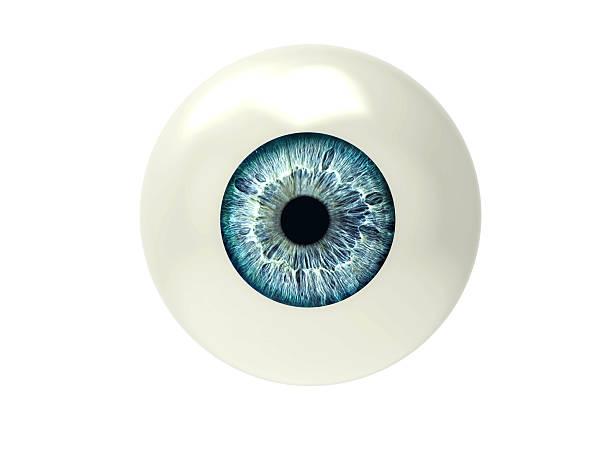 eyeball isolated on white eyeball isolated on white iris eye stock pictures, royalty-free photos & images