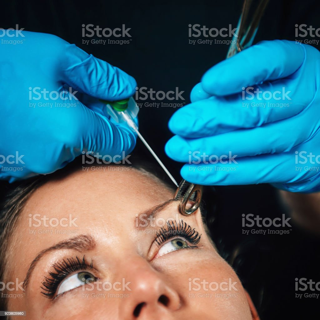 Eyebrow Piercing Stock Photo More Pictures Of Adult Istock
