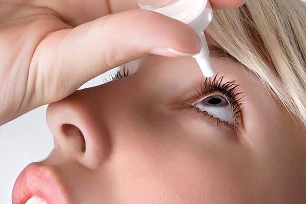 eyedroppers stock photo