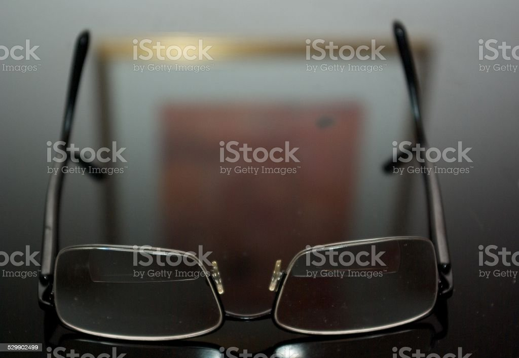 Eyeglasses at Rest stock photo