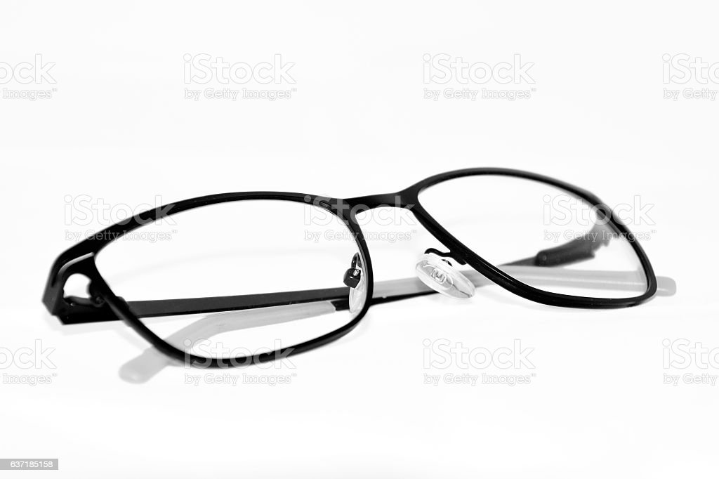 eyeglasses - close-up stock photo