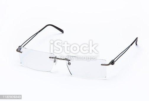1047544590 istock photo Eyeglasses isolated on white background ( 1132926343