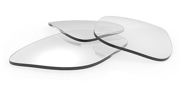 verres de lunettes de vue - concave photos et images de collection