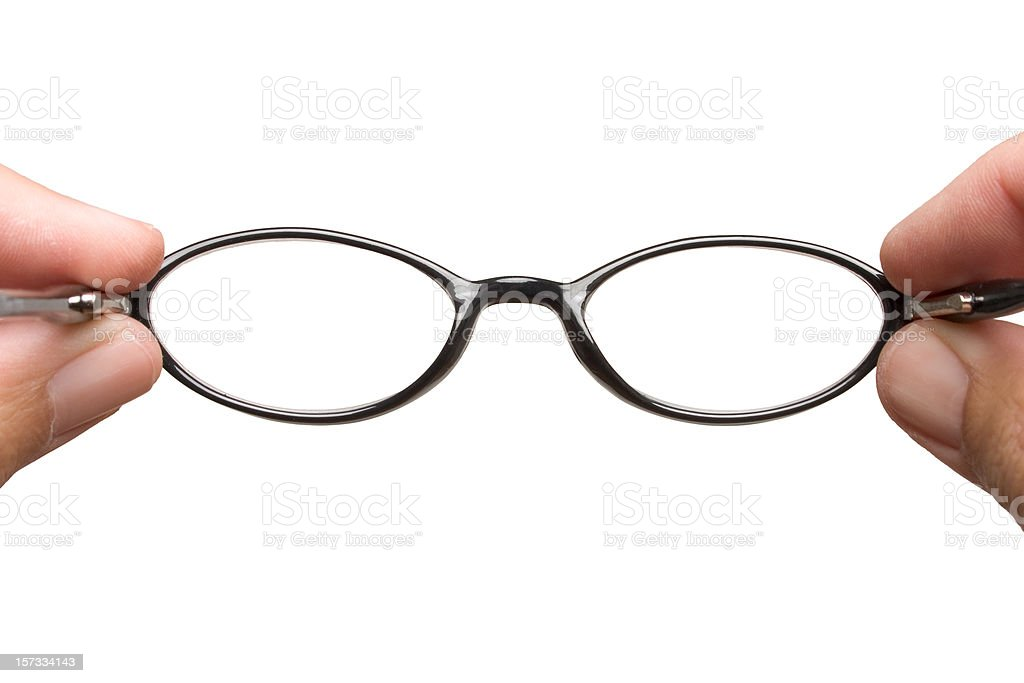 Eyeglasses royalty-free stock photo