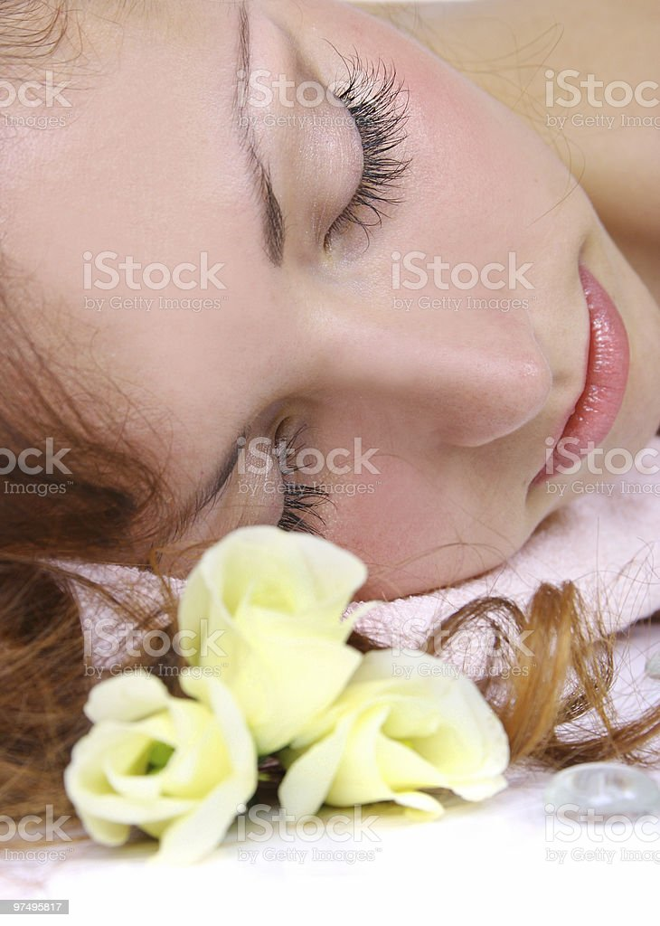 eyelash royalty-free stock photo