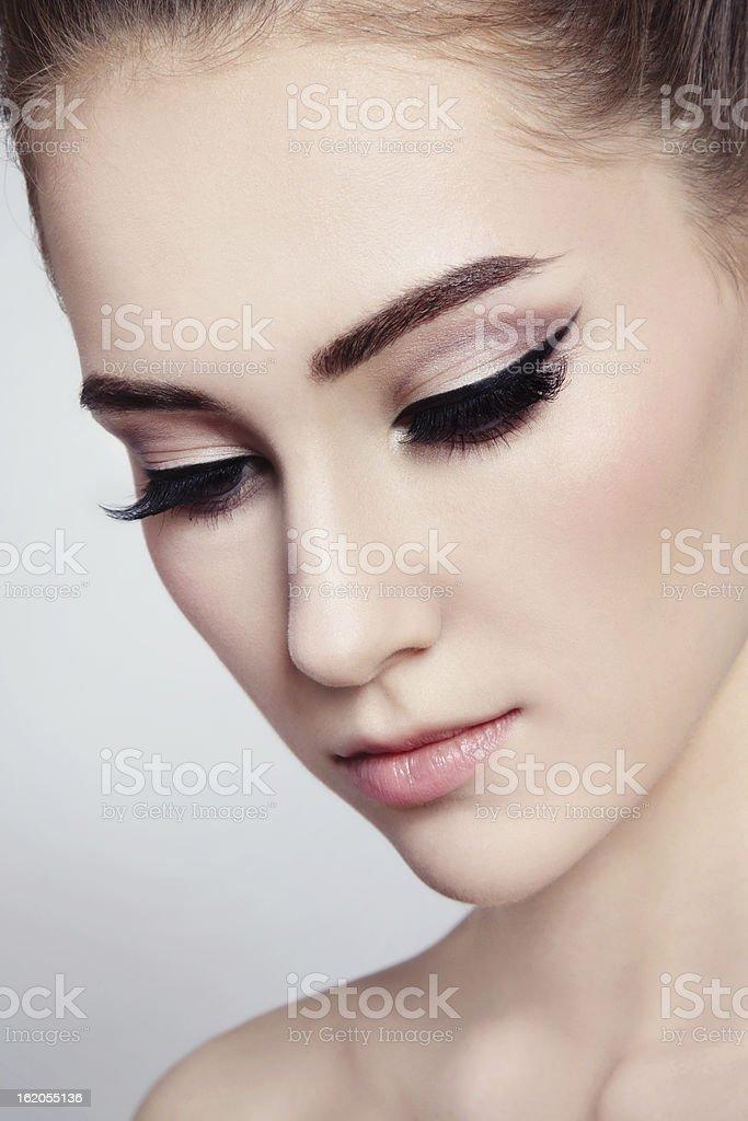 Eyeliner stock photo