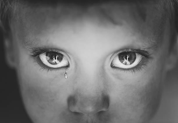 Auge Nahaufnahme kleine Jungen – Foto