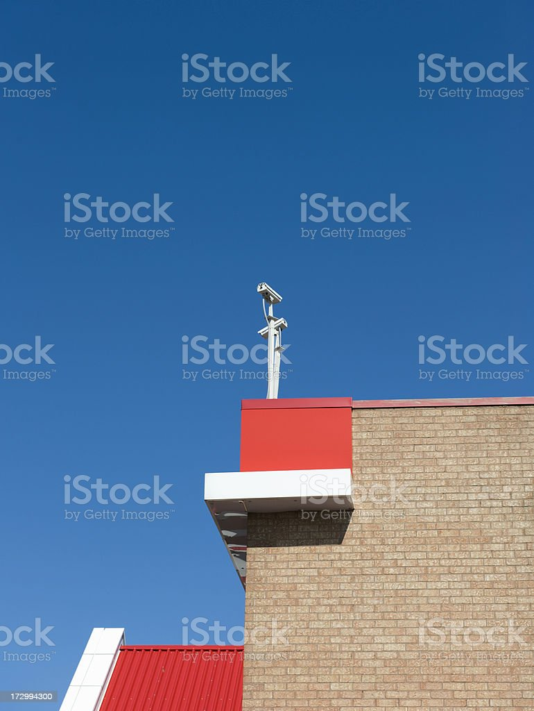 Eyes in the sky royalty-free stock photo
