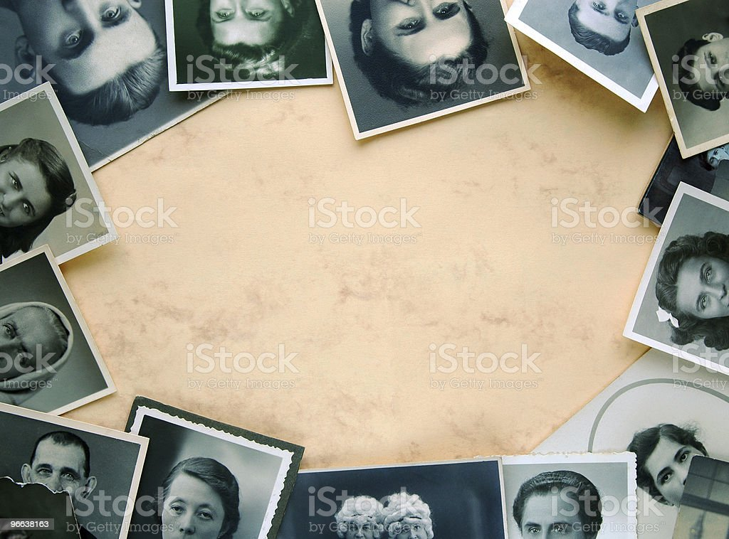 Eyes of old times royalty-free stock photo