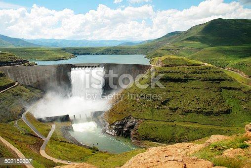 Katse Dam, Lesotho, South Africa