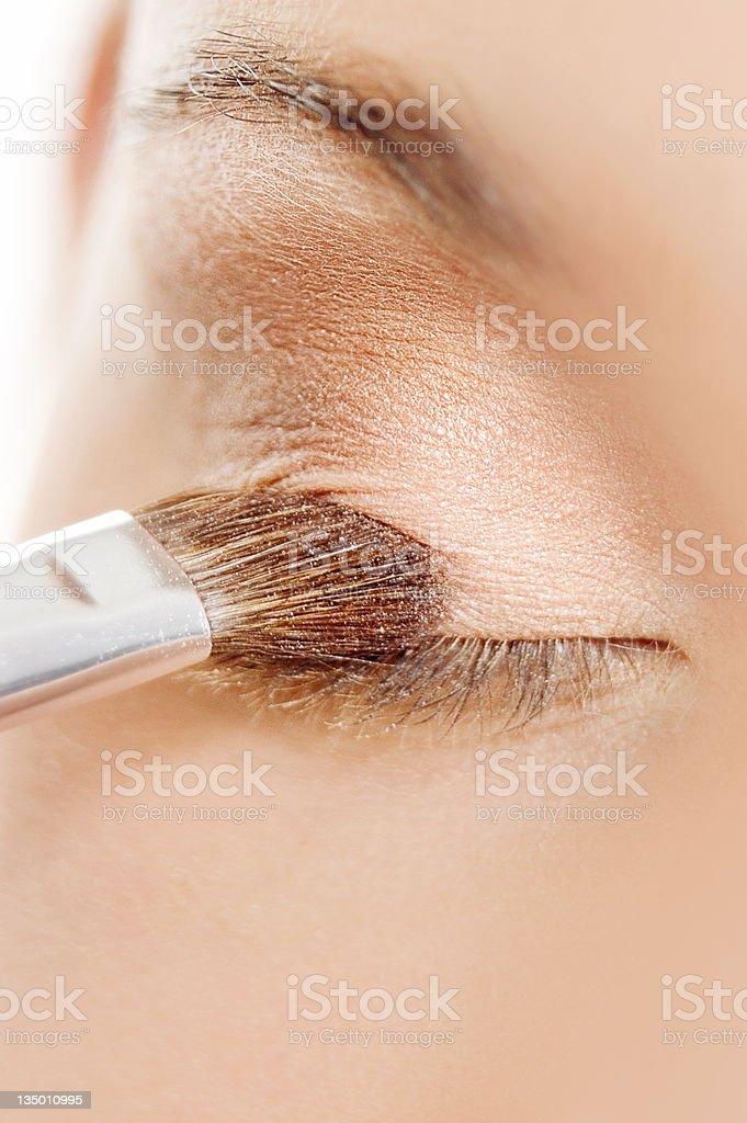 Eyeshadow stock photo
