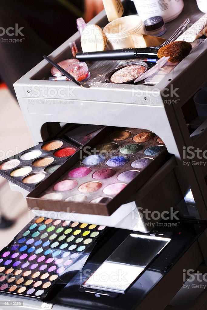Eyeshadow royalty-free stock photo