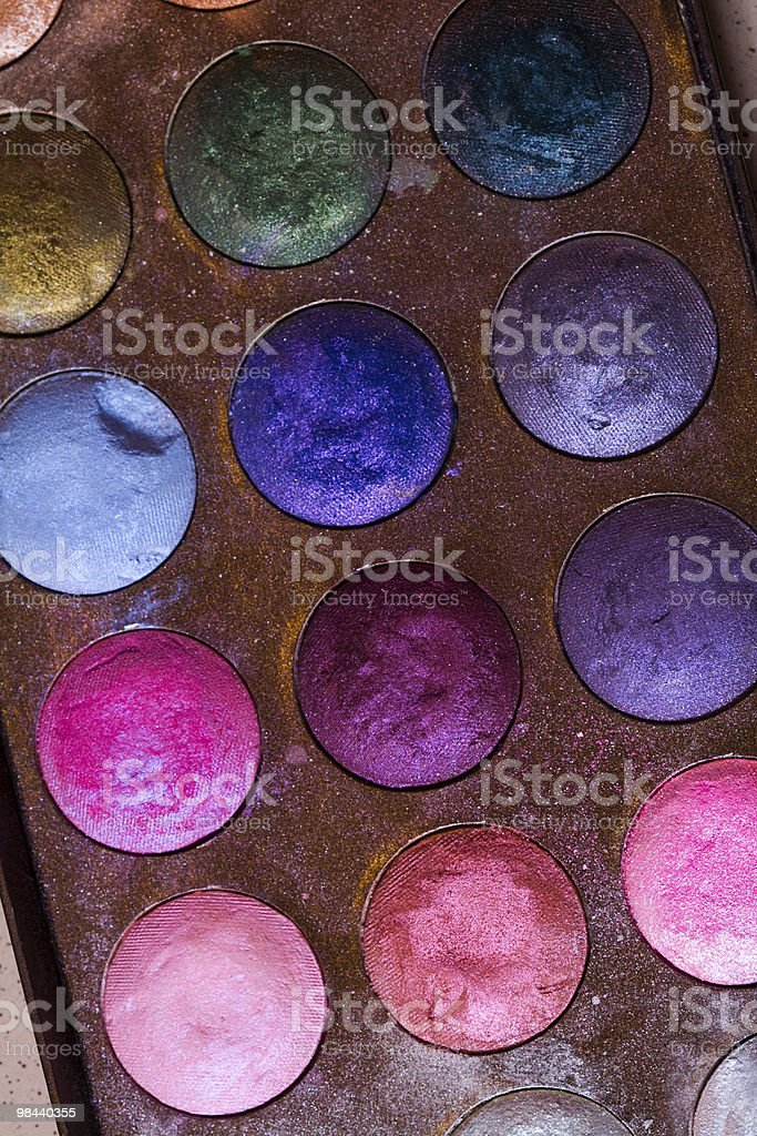 Eyeshadow royalty-free stock photo