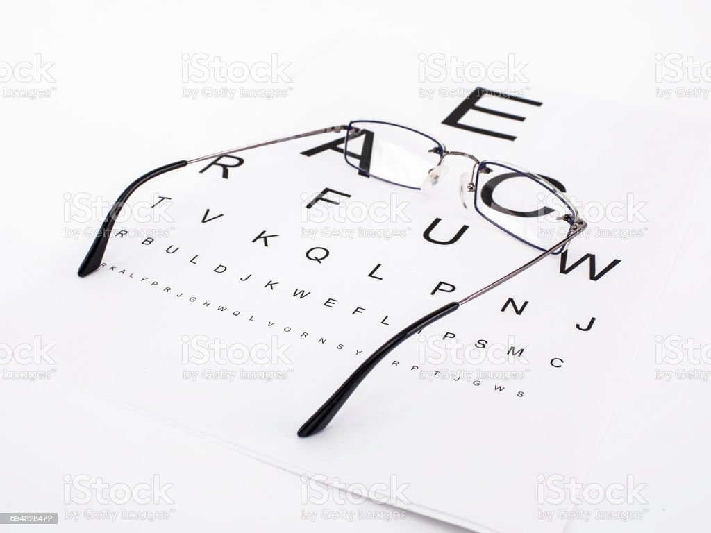 Eyesight stock photo