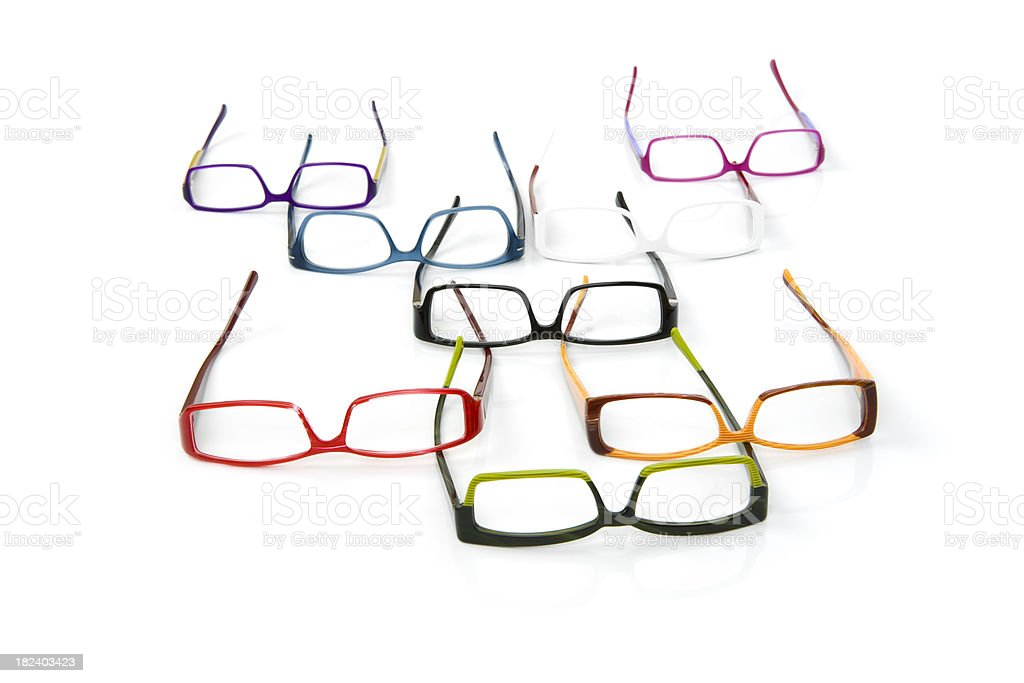 Eyewear Optical Series royalty-free stock photo