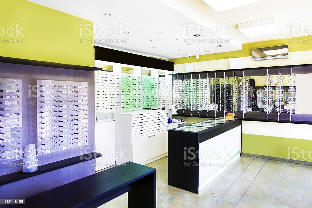 Eyewear store royalty-free stock photo