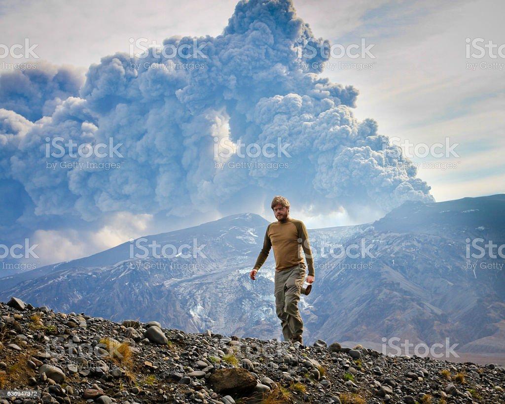 Eyjafjallajokull stock photo