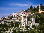 france riviera medieval village of EZE provence cote d'azur french riviera alpes alps maritime