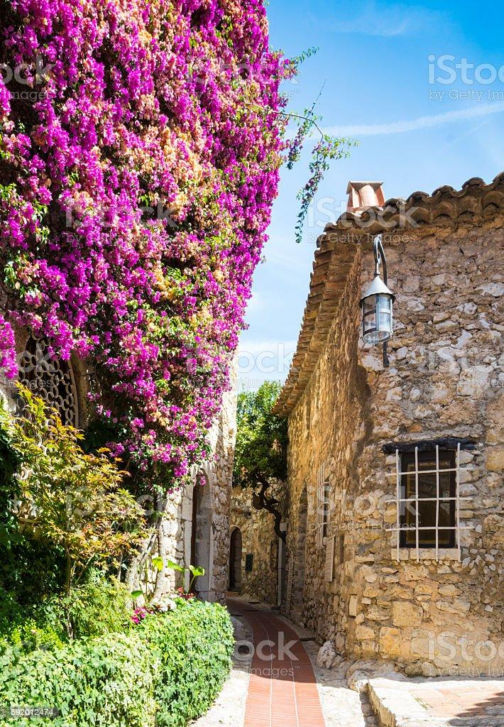 Eze Village, France stock photo