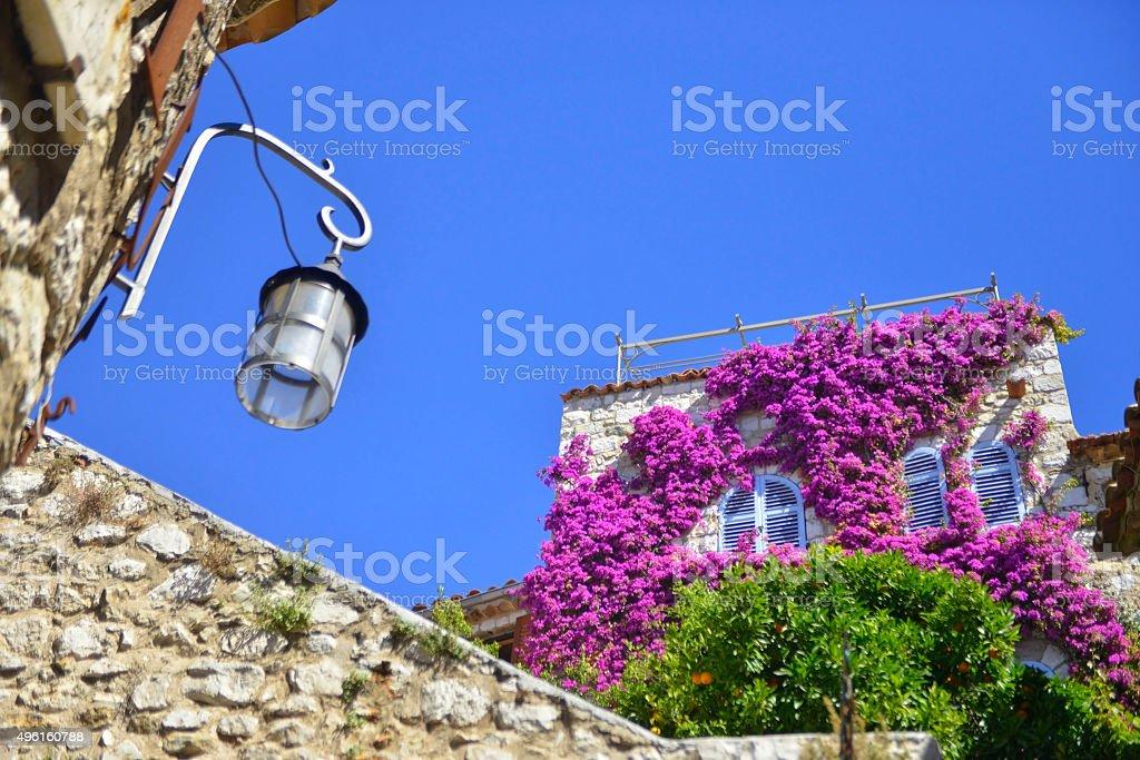 Eze Village stock photo