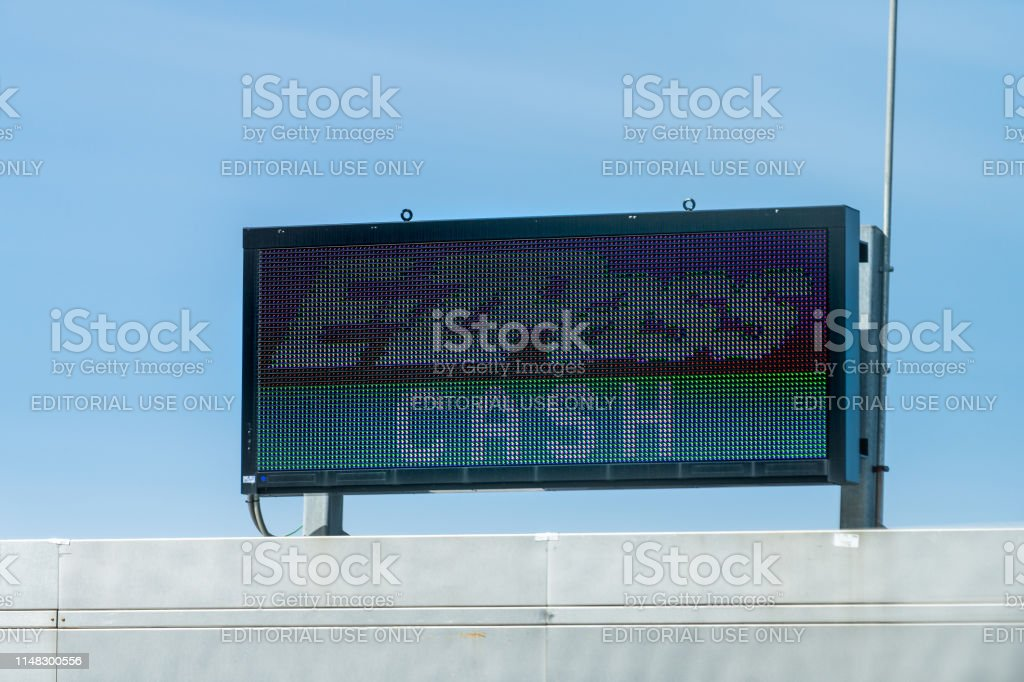 Ezpass Ez Pass No Trucks Lane For Toll To Bridg New York