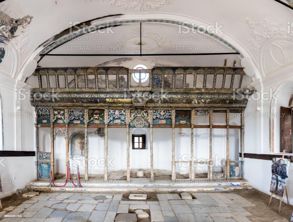 f Ayasosti Church at village of Sirince.Selcuk,Izmir,Turkey zbiór zdjęć royalty-free