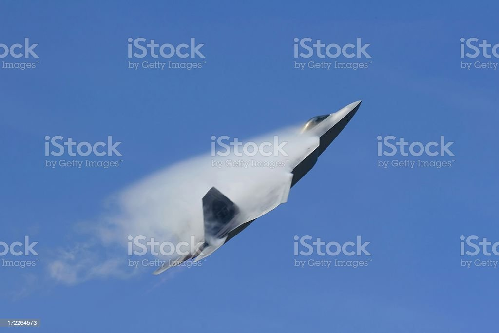 F-22a Raptor royalty-free stock photo