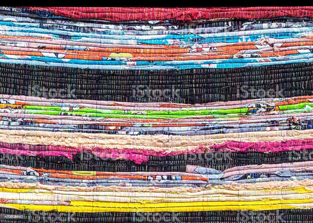 Fabric alternation detail pattern stock photo