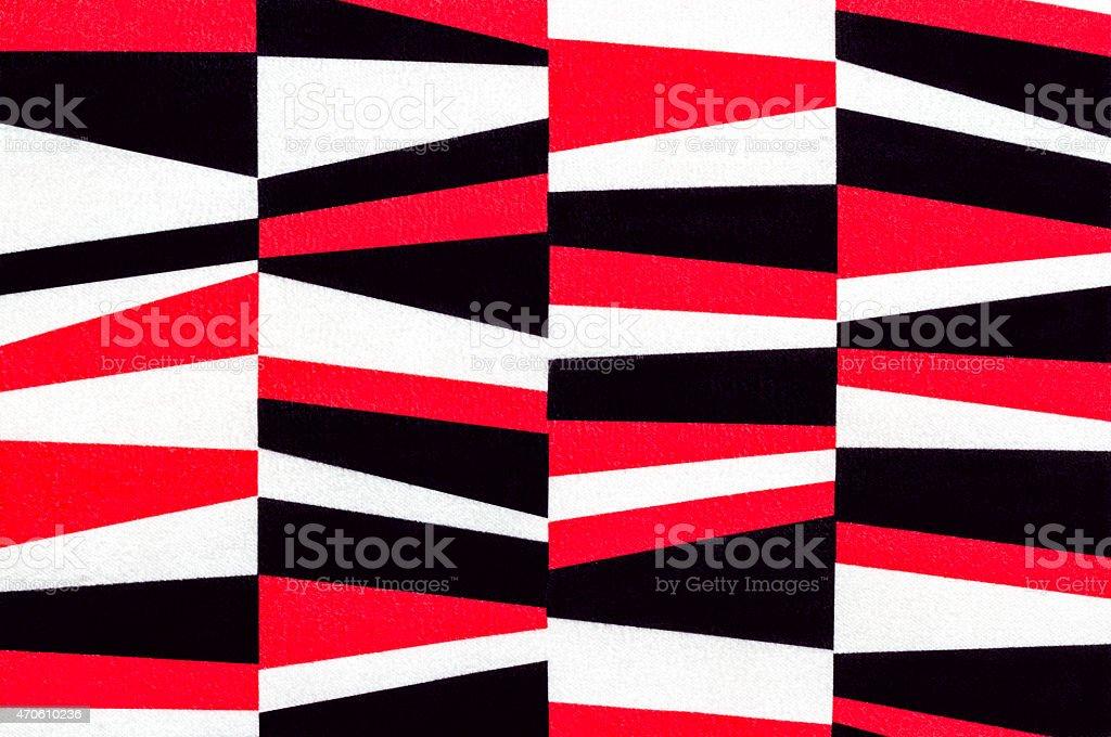 Fabric alternation pattern stock photo