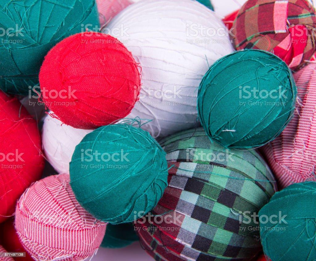 Fabric Balls Closeup Stock Photo Download Image Now Istock