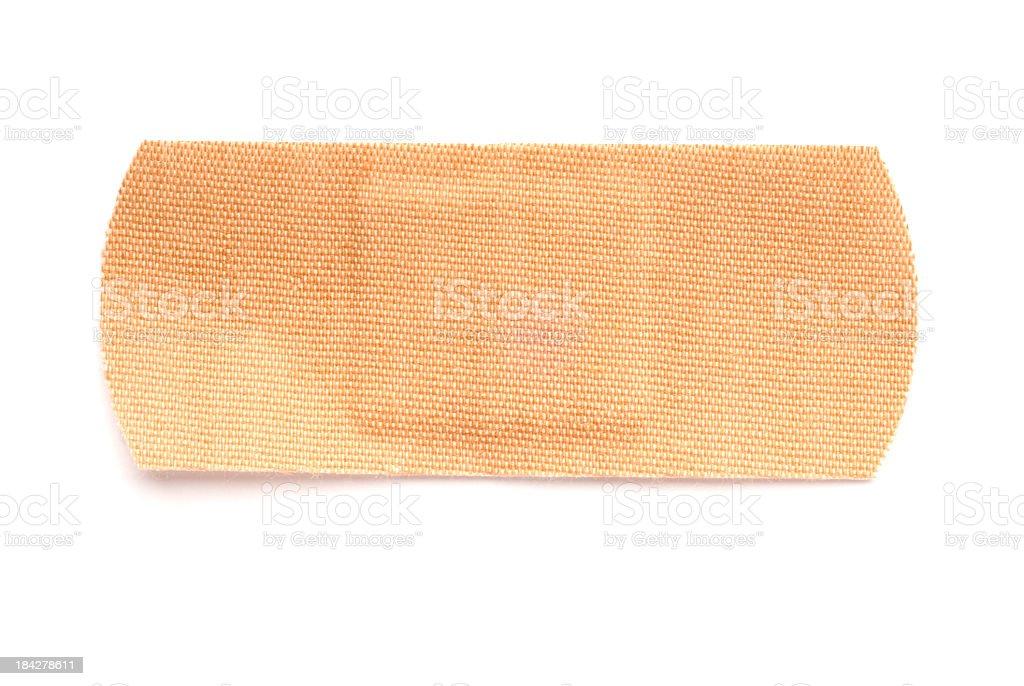 Fabric bandage with shadow stock photo