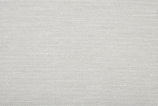 Directly above view of white fabric cloth
