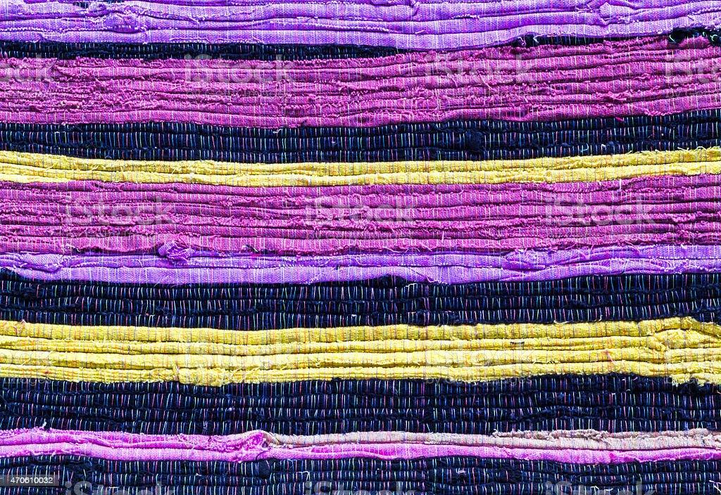 Fabric colourful pattern stock photo