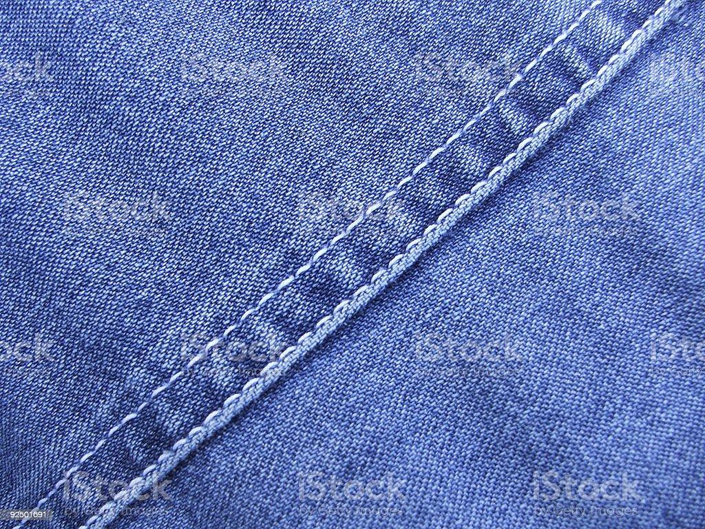 Fabric - Denim royalty-free stock photo