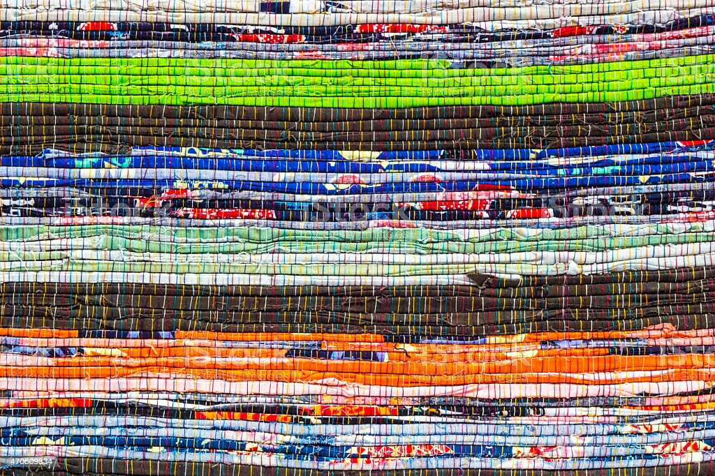 Fabric detail pattern stock photo