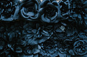 istock Fabric flower close-up 1070938058
