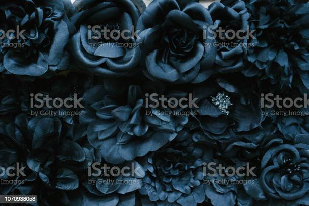 Photo of Fabric flower close-up