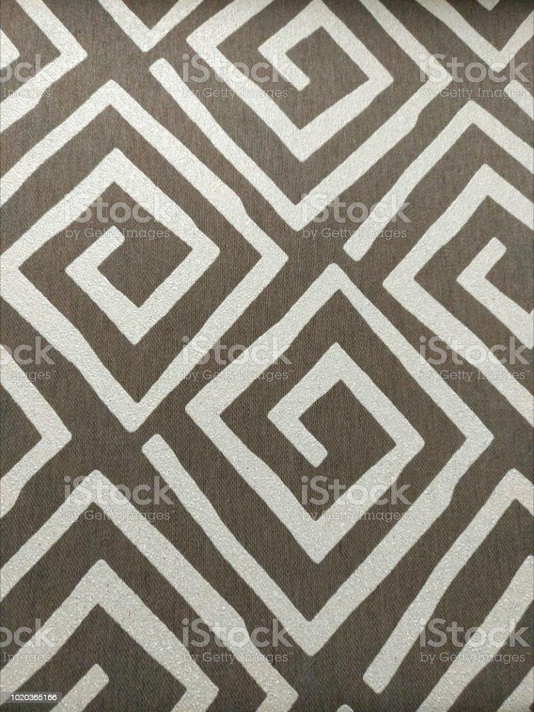 Tissu de l'usine, un fragment de l'image et texture - Photo