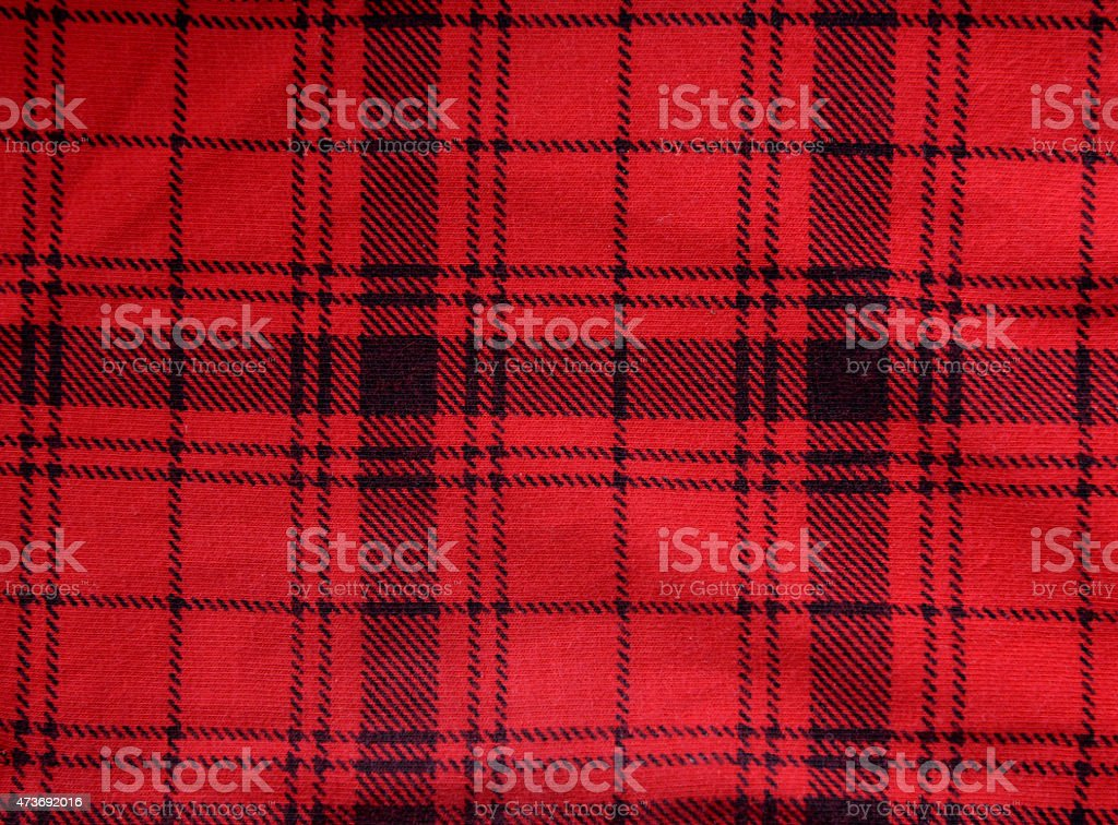 Fabric red background stock photo