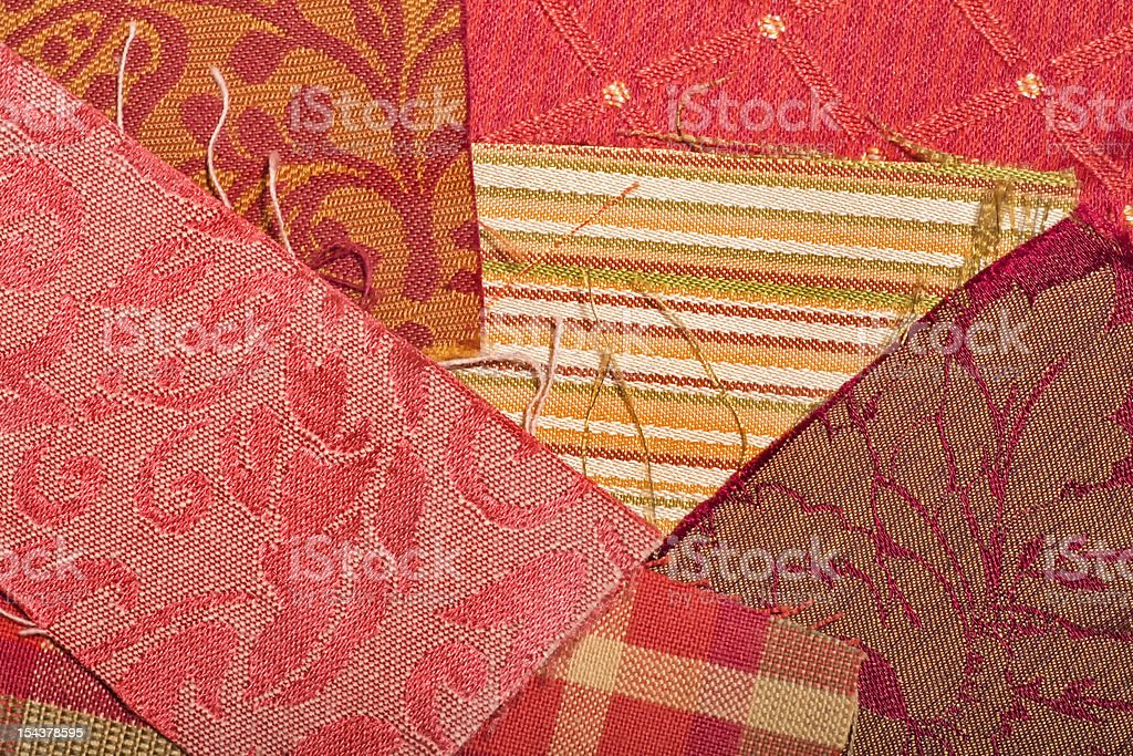 Amostras de tecido - foto de acervo