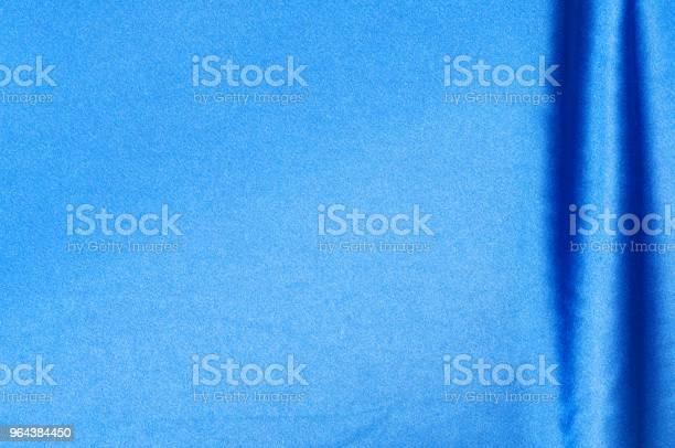 Foto de Tecido De Seda Emenda Plano Cor Azul e mais fotos de stock de Algodão - Material Têxtil