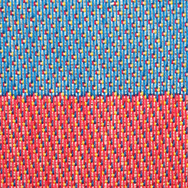 fabric swatches - kente cloth stock photos and pictures