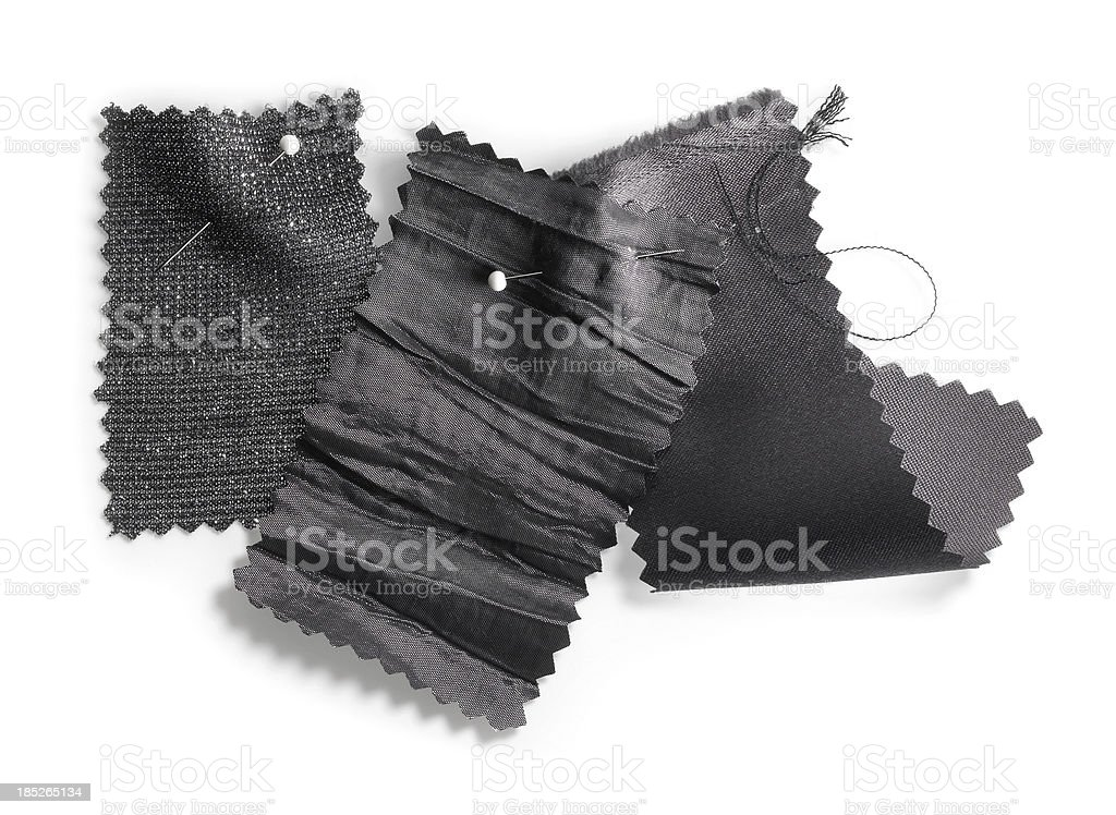 Fabric swatches stock photo