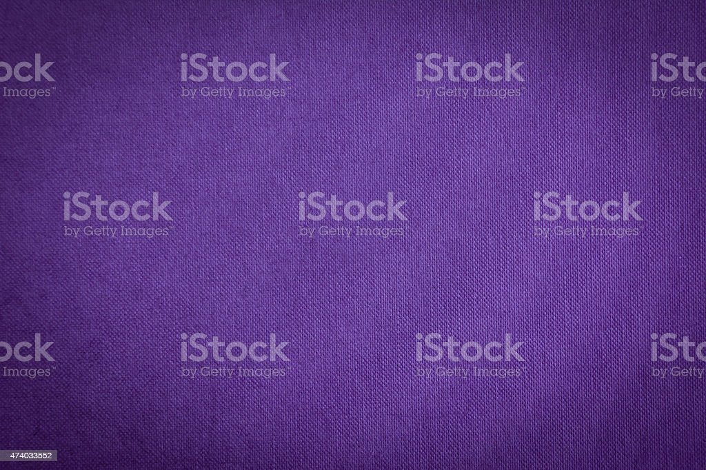 Fabric texture background in various tones of purple stock photo