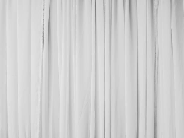 stoff textur hintergrund. - gardinen weiß stock-fotos und bilder